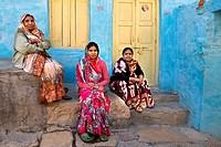 India, Rajasthan, Jaisalmer, woman.