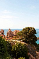 Paradise beach in Sardinia, Italy. Europe.