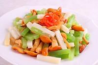 three delicacies vegetable