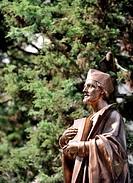 Unveiling of John Huss statue based on model by Jan Stursa in Nove Mesto na Morave, Czech Republic, July 5, 2015. (CTK Photo/Lubos Pavlicek)