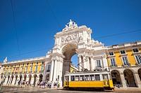 Praça do Comércio, Lisbon, Portugal.