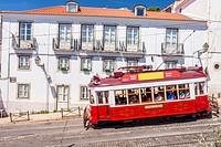 Largo Santa Luzia, Lisboa, Portugal.
