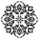 Ottoman motifs design series with t
