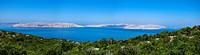 Croatia, Senj, View to Kvarner Gulf
