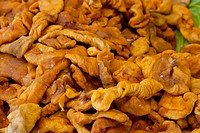 Dried apricots, nuts
