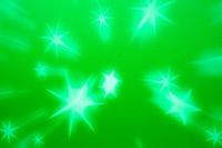 green star background