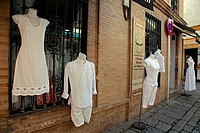 Clothing store in Seville, Spain