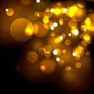 Gold festive abstract vector background