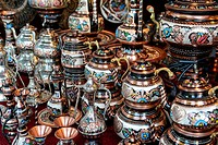 Turkish Teapots for Sale in Istanbul Turkey