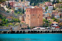 Kizil Kule (Red Tower), inTurkish city of Alanya