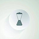 Flat vector icon for blender