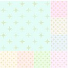 seamless stars pattern with gold