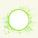 Green ecology banner