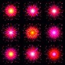 Fireworks, set