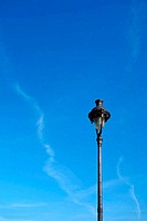 antique lampstand