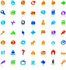 Perfect icons for interface