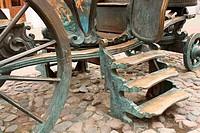 Copper brougham (detail)