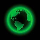 Neon earth.