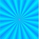 Blue background center line