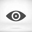 Eye icon - Simple vector