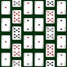 Card seamless.