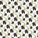 Seamless wallpaper elephant.