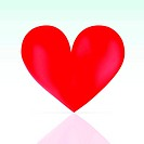 Heart shape as symbol for Valentine