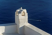 Ventilation, Santorini, Cyclades Islands, Greece, Europe.