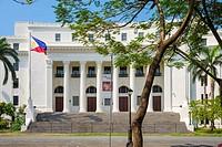Museum of the Filipino People (Filipino: Museo ng Lahing Pilipino) in Rizal Park, Ermita, Manila, National Capital Region, Philippines.