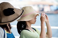 Girls with hat