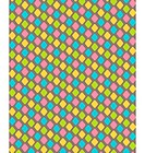 Bright abstract diamond shape seamless pattern