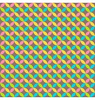 Bright abstract seamless pattern with multicolored circles