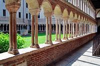 Italy, Veneto, Verona, Santa Maria Matricolare, Cathedral, Cloister.