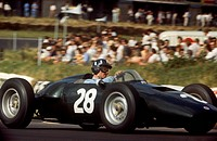 Graham Hill in his BRM 1960s