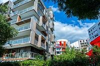 Paris, France, New Modern Architecture Project, Garden Martin Luther King, Neighborhood, Eco-Quartier Clichy-Batignolles,