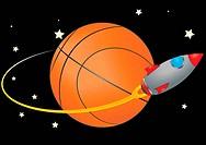 space basketball