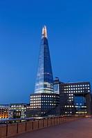 England, London, Southwark, London Bridge and The Shard