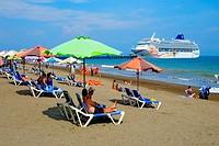 Norwegian Sun Cruise Ship Puntarenas Costa Rica Central America.