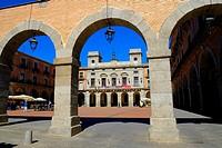 Plaza de la Victoria Avila Spain Castile-Léon Medieval.