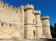 Palace of the Grand Master, Rhodes, Greece World Heritage City, UNESCO