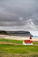 Látrabjarg, Westfjords Iceland.