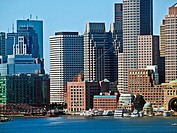Financial district, Boston, Massachusetts.