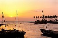 beach, Guinea, West Africa.
