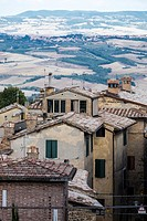 Montalcino hill town and comune of Tuscany, Italy.