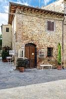 Monteriggioni. Tuscany, Italy.