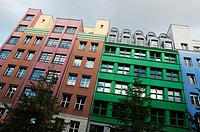 Modern architecture in the Mitte district of central Berlin.