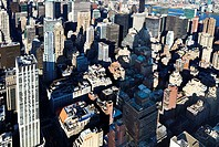 New York City, Manhattan, Skyline, Skyscrapers
