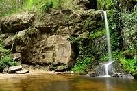 Mon Tha Than waterfall in Doi Suthep near Chiang Mai, Thailand.