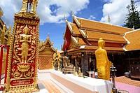 Wat Phra That Doi Suthep near Chiang Mai, Thailand.