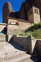 Church of Our Lady of Mallo (XVII Century), Riglos, Huesca, Aragon, Spain.